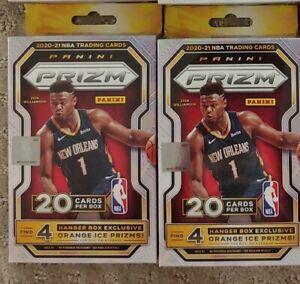 2020-21 PRIZM Basketball Hanger Boxes Lot of 2 Sealed