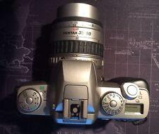 PENTAX ZX-5 CAMERA  WITH SMC PENTAX-FA 1:4-5.6 35-80mm LENS