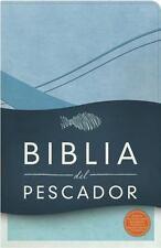 RVR 1960 Biblia Del Pescador, Azul Cobalto Símil Piel : Evangelismo Discipulado