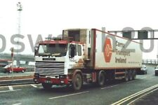 Colour photograph 6X4 photos truck : Carna transport Ireland fridge trailer 6m20