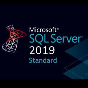 SQL Server 2019 Standard / Unlimited CALs / 20 Cores / 30 Secs Delivery