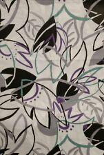 Patchworkstoff, Baumwollstoff mit abstrakten Blüten , 100 x 140 cm