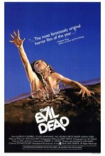 """""""The Evil Dead"""" Movie Poster [Licensed-New-Usa] 27x40"""" Theater Size (1981)"""