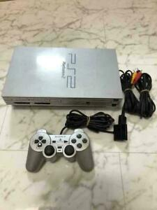 Sony PS2 PlayStation2 SCPH-39000 imited color silver