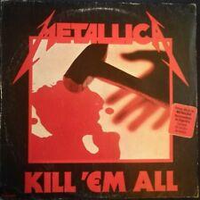 METALLICA Kill 'Em All LP ARGENTINA + bonus track RARE !