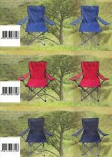 Folding Chair Comfortable Camping Portable Strong Beach Picnic Camp Fishing BBQ