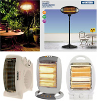 Electric Heaters With 2 and 3 Heat Settings 800/1200/2000 Watts Space Heaters