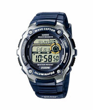 Runde Casio Armbanduhren für Herren