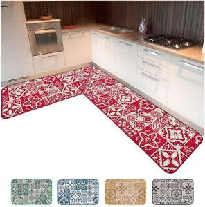 Tappeto cucina angolare bordato passatoia al metro su misura personalizzata casa