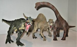 Lot Of 3 Schleich Dinosaurs T-Rex and others.... beautiful collection! toy figur