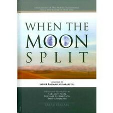 When the Moon Split The biography of the Prophet PBUH Islamic Muslim Book Large
