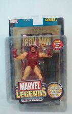 Marvel Legends Iron Man series I figure Gold Foil Comic MIP Toy Biz