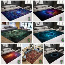 Psychedelic Hollow Mat Living Room Rugs Carpet Floor Door Mats Bedroom Art Decor