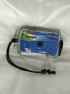 Snap Sights Waterproof Video Camera Camcorder Videocamera SS1000 W/New Batteries