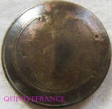 B631 -  BOUTON 1° rgt INFANTERIE DE LIGNE  1820-1844