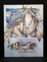 Greeting Card Happy Birthday Jody Bergsma Dream Journey Leanin Tree Horses New