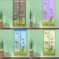 Magnetic Curtains Door Screen Tulle Anti-Mosquito Curtain Mosquito Net
