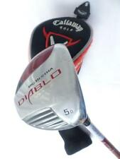 Callaway Golf Big Bertha Diablo Draw 5w Fairway Wood Graphite Stiff Right Hand