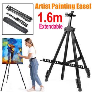 Artist Easel Large Metal Tripod Stand Floor Portable Display Art Painting W/Bag