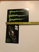 Monster Energy Stickers Set Of 2