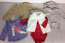 Baby Girls Sz 12 months Lot Koala Kids/Cat & Jack/Carters/Winter