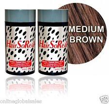 2 of Hairsoreal,Hair Loss Concealer 28g /Medium Brown For Bald Spots & Thin Hair