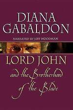 LORD JOHN & BROTHERHOOD OF THE BLADE by DIANA GABALDON UNABRIDGED CD AUDIOBOOK