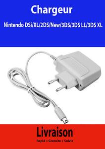 Chargeur adaptateur pour Nintendo DSi DSi XL 2DS 3DS 3DS LL 3DS XL