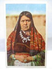 '61 1St Day Issue Knotts Berry Farm Postcard Tsytyaseta Bowekatee Zuni Squaw Bio