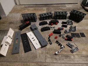 Lego® Konvolut Eisenbahn, Zugplatte, Drehteller, Achsen, Kupplung,
