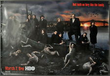 SOPRANOS AUTHENTIC 2006 HBO TV POSTER 27X40 JAMES GANDOLFINI SEASON 5 HORIZONTAL