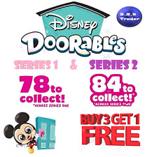 Disney Doorables Series 1 & 2 figures inc Ultra Rare and Playsets Pick your own
