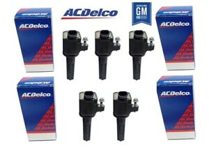 5 x ACDelco IGNITION COIL OE STYLE FOR HUMMER H3 07-10 / HUMMER H3T  09-10  3.7L