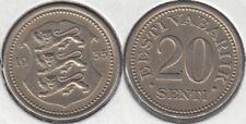 ESTONIA - EESTI. 20 SENTI DE 1935.