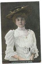 ROYALTY - QUEEN VICTORIA of SPAIN  Stuart Postcard