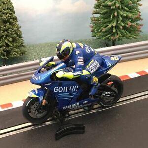 Scalextric 1:32 Moto GP Motorbike - C6005 Valentino Rossi Yamaha #46 #W BLUE