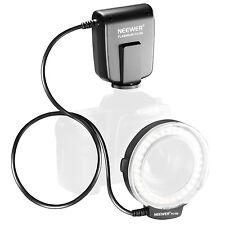 Neewer LED Macro Ring Flash FC100 for Canon 5D 7D Mark II Nikon D5000 DSLR