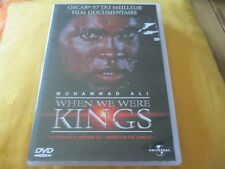 """RARE! DVD """"WHEN WE WERE KINGS - MUHAMMAD ALI"""" documentaire"""