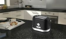 Swan Electric 2 Slice Toaster Cool Wall Touch Black Kitchen Home Brand New