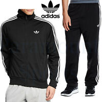 Mens Adidas Firebird Tracksuit Adi Originals Zip Track Top Bottoms Size