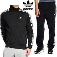 Mens Adidas Firebird Tracksuit Adi Originals Zip Track Top Bottoms Size