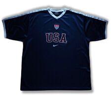 Vintage Usa Training Soccer Jersey America Football Shirt Trikot Nike Kit