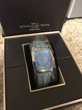 Officina Del Tempo Ladies Femme Montre blue Leather Quartz Watch
