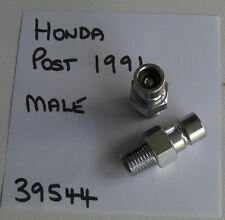 "HONDA OUTBOARD MALE TANK FUEL FITTING, 1991 & UP, PAT 39544 1/4"" NPT THREAD"