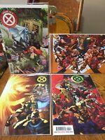 House of X 1-6, Powers of X lot Marvel Comics X-men Hickman