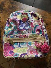 COACH Poppy Pop C Graffiti Backpack Full Size
