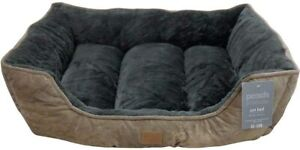 Pet Beds Cushion Soft faux fur Dog bed Washable jumbo size bed padded 84x64x20cm