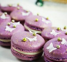 200 Edible Small Butterflies Macaron Cake Cupcake Baby shower birthday wedding