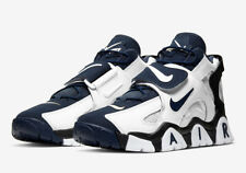 Nike Men's Air Barrage Mid White/Midnight Navy Sz-11 AT7847 101 No-Box-Top