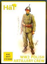 HaT Miniatures 1/72 WORLD WAR II POLISH ARTILLERY CREW Figure Set